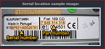 Codice Radio Fiat 500.Codice Sblocco Autoradio Fiat 500 Car Audio Motor1 Com