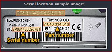 codice sblocco autoradio fiat 500 - car audio - omniauto.it - forum
